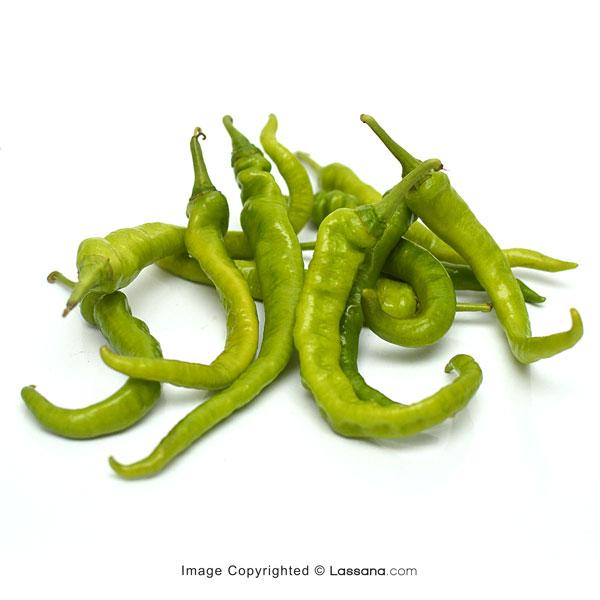VARANIYA GREEN CHILLI (වැරනිය මිරිස්) - 100g - Vegetables & Fruits - in Sri Lanka