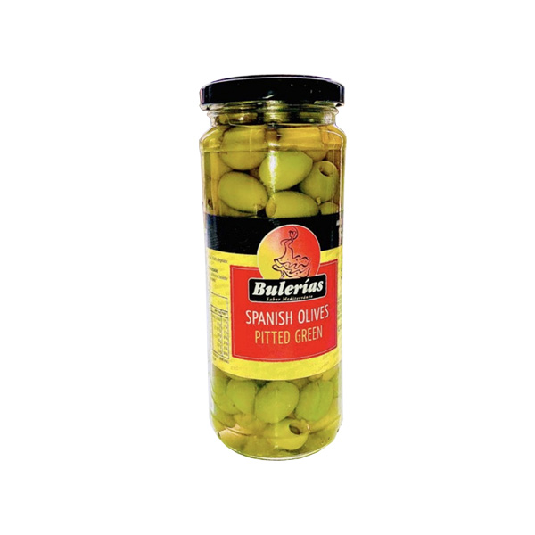 BULERIAS GREEN PITTED OLIVES 330G - Grocery - in Sri Lanka