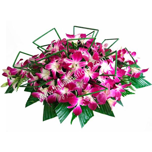 ORCHIDS COFFEE TABLE ARRANGEMENT - Corporate Gifting - in Sri Lanka
