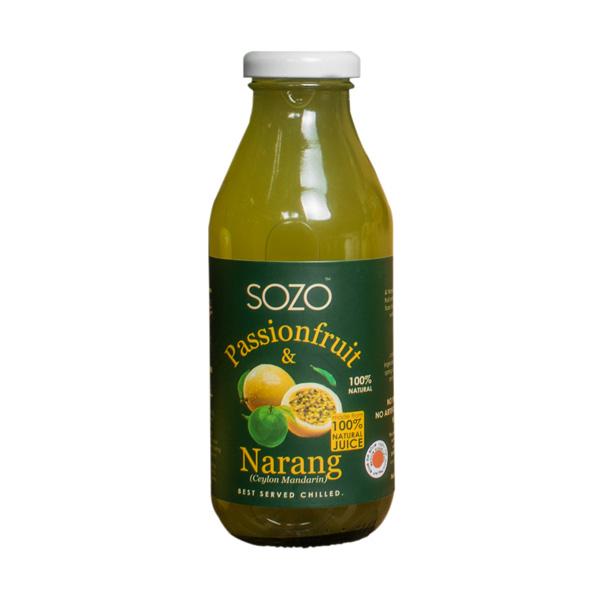 SOZO PASSION FRUIT & NARANG 350 ML - Beverages - in Sri Lanka