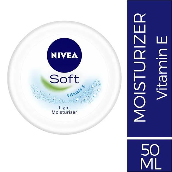 NIVEA SOFT LIGHT MOISTURISER CREAM 50 ML - Personal Care - in Sri Lanka