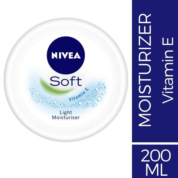 NIVEA SOFT LIGHT MOISTURISER CREAM 200ML - Personal Care - in Sri Lanka